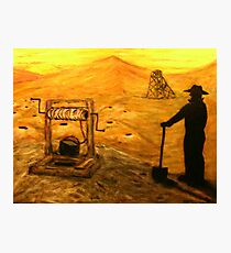 Australiana    Prospector Dreaming  EJCairns Original Sold  Photographic Print