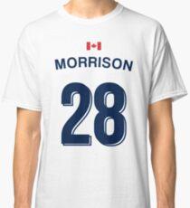 Jennifer Morrison Whitecaps Jersey  Classic T-Shirt