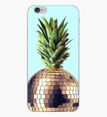Ananas Party (pineapple) blue version iPhone Case