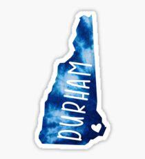 Durham, New Hampshire Sticker