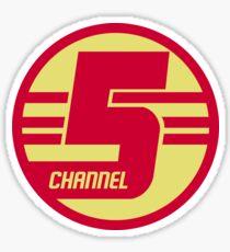 Dr Steve Brule // Channel 5 Logo Sticker