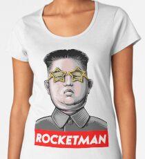 Rocket man Kim Jong-Un Donald Trump RocketMan T Shirt Women's Premium T-Shirt