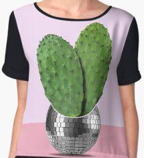 Cactus disco party Chiffon Top