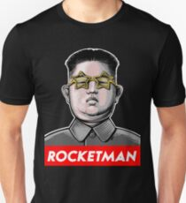 Rocket man Kim Jong-Un Donald Trump RocketMan T Shirt T-Shirt