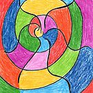 2406 - Unusual Spiral presented with Colours by tigerthilo