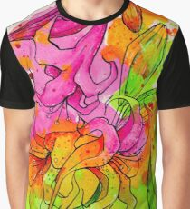 Vivid in Lily Graphic T-Shirt