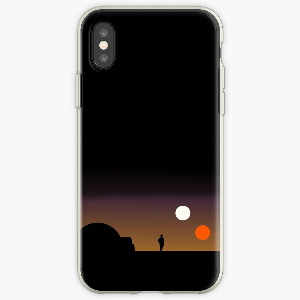 The Double Sunset ... Funda y vinilo para iPhone