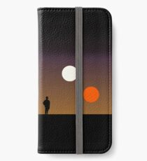 Der doppelte Sonnenuntergang ... iPhone Flip-Case/Hülle/Skin