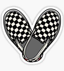 VANS HEART Sticker