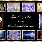 Fantasy Art Plaque by EnchantedDreams