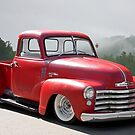 1950 Chevrolet 3100 Custom Pickup 'Fly'n Show Low' II by DaveKoontz