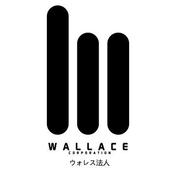 Wallace Corp. 2049 ウォレス法人Large Black by hopography