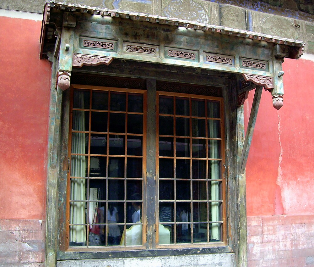 """Window in the Forbidden City. "".: by lurline"