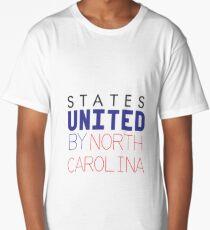 States United by North Carolina Long T-Shirt