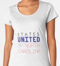 States United by North Carolina Women's Premium T-Shirt