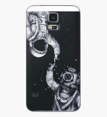 Funda/vinilo para Samsung Galaxy Astronauta y buzo