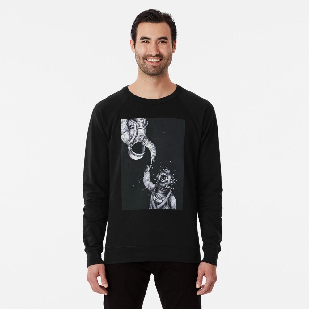 Astronaut und Taucher Leichter Pullover