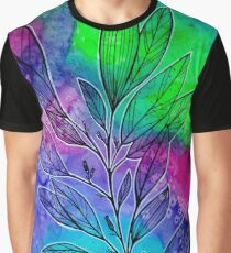 Vibrant Branches Graphic T-Shirt