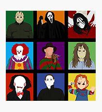 Halloween Impression Board Photographic Print