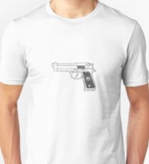9mm Beretta Unisex T-Shirt