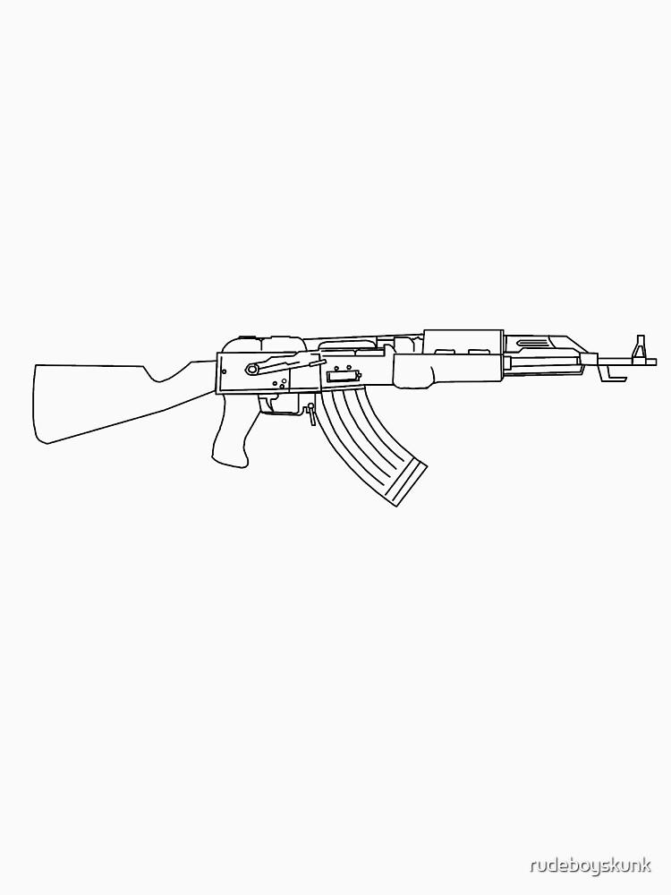 AK47 by rudeboyskunk