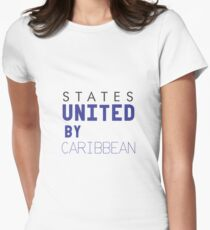 States United by Caribbean Women's Fitted T-Shirt