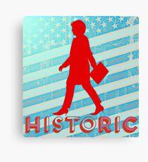 Hillary Rodham Clinton: Historic Canvas Print