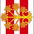 Westmorland Flag Phone cases by mpodger