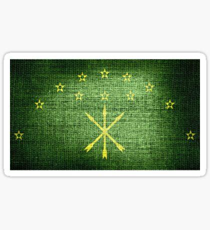 Adygea Flag Sticker