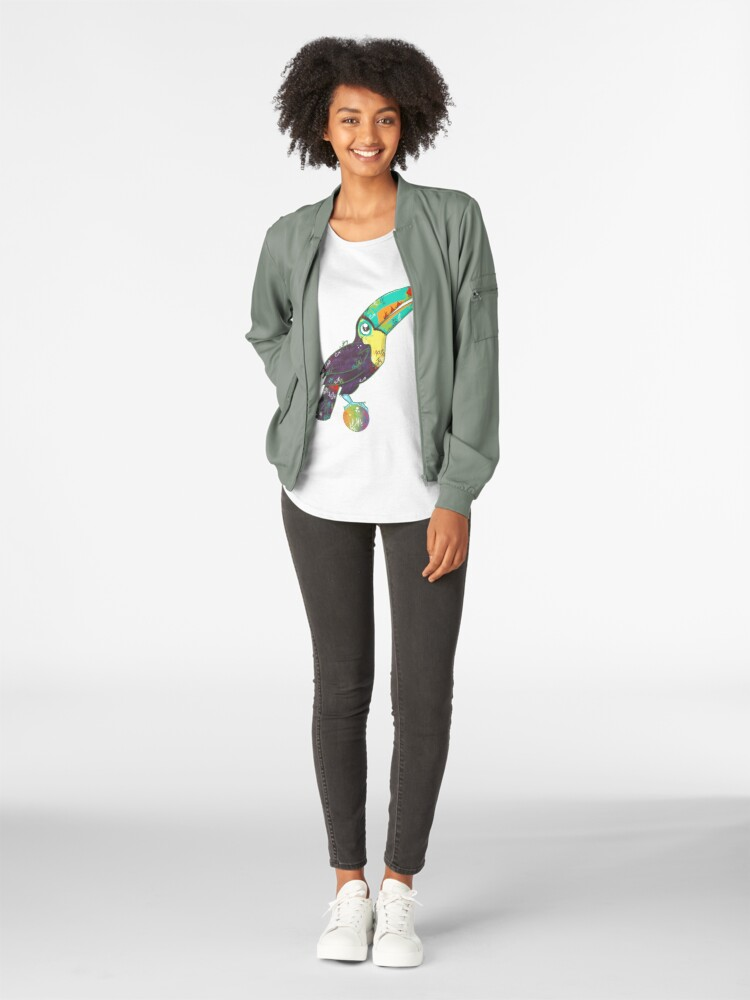 Alternate view of Toucan Can Do it! Premium Scoop T-Shirt