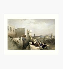 Citadel of Jerusalem Art Print