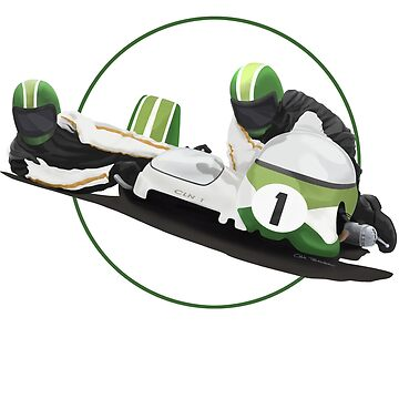 SIDECAR RACER by MOTORVATESTUDIO