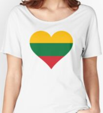 lithuania Women's Relaxed Fit T-Shirt