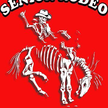 Senior Rodeo Cowboys Never Die by RDGGlobal