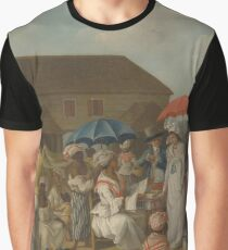 A linen market in 1770s Dominica Graphic T-Shirt