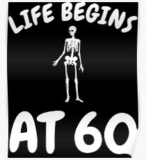 60th birthday posters redbubble