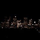 Nightime over Sydney by Of Land & Ocean - Samantha Goode