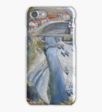 Looking Down, Staithes iPhone Case/Skin