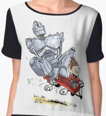 Iron Giant Chiffon Top