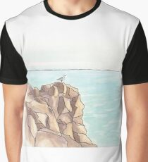 Seagull on rock - Lanzarote Graphic T-Shirt