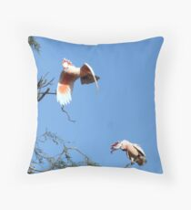 Where you goin? Throw Pillow