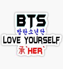 ♥♫BTS-Bangtan Boys-Love Yourself-'Her'♪♥ Sticker