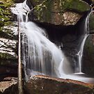 Black Stream Waterfall by Dominika Aniola
