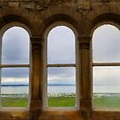 Morecambe Bay Through the Windows by Tibby Steedly