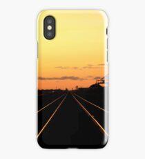 Silence on the Prairies... iPhone Case/Skin