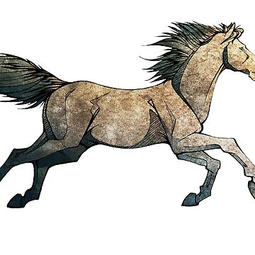 Caballo Copperstone de Illustratorz