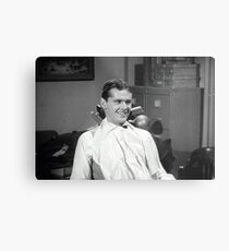 Jack Nicholson at the dentist publicity still from Little Shop of Horrors Metal Print