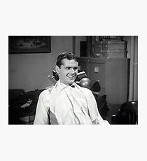 Jack Nicholson at the dentist publicity still from Little Shop of Horrors Photographic Print