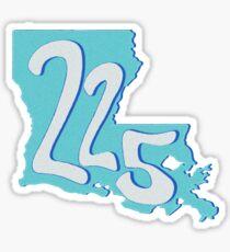 (225) Sticker