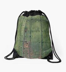 Green Door Drawstring Bag